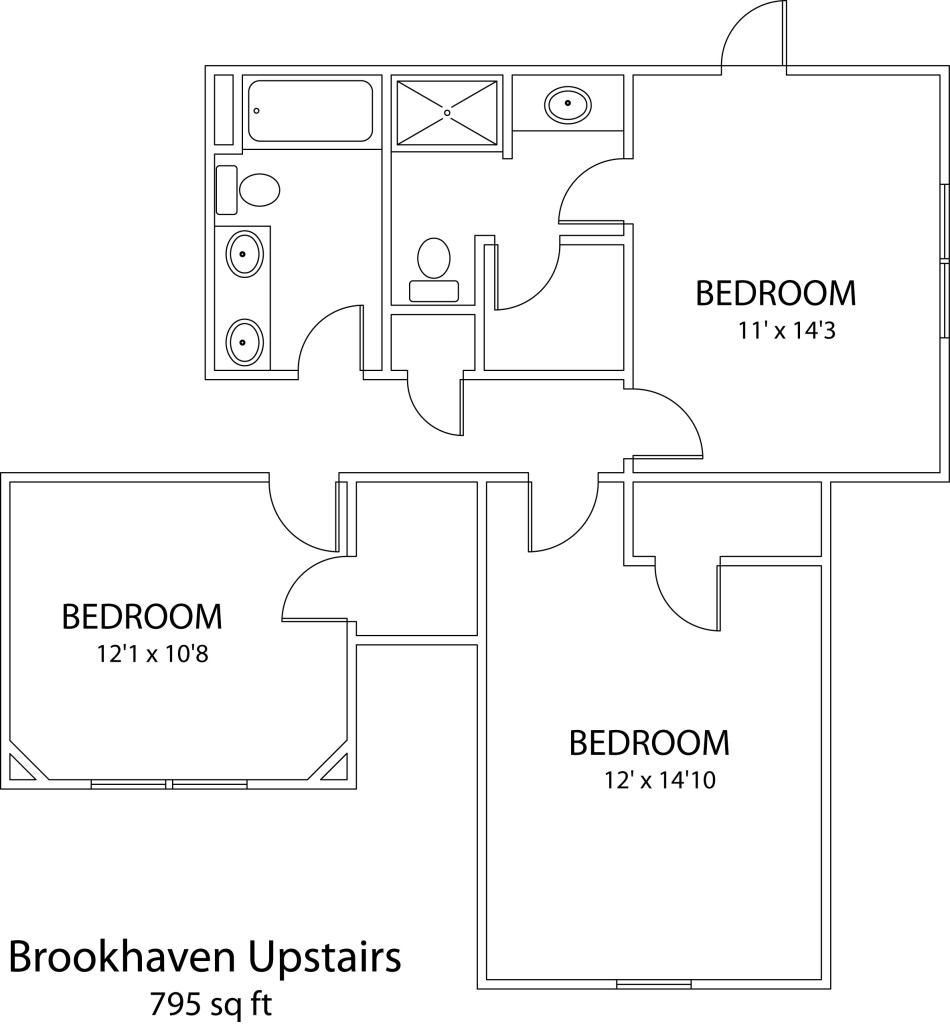 Brookhaven Upstairs